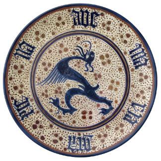 Spanien-15. Jahrhundert Porzellanteller