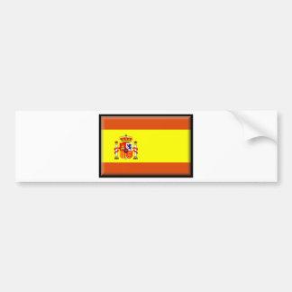 Spanien-Flagge Autoaufkleber