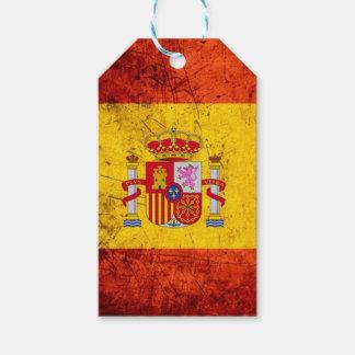 Spanien-Flagge Geschenkanhänger