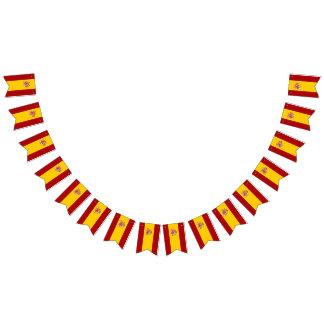 Spanien-Flagge Wimpelketten