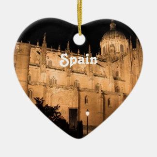 Spanien Keramik Herz-Ornament