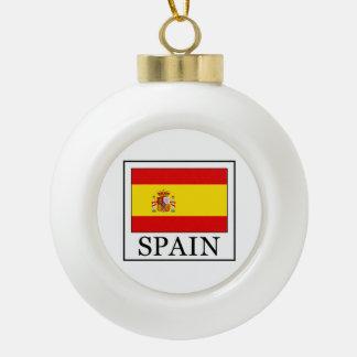 Spanien Keramik Kugel-Ornament