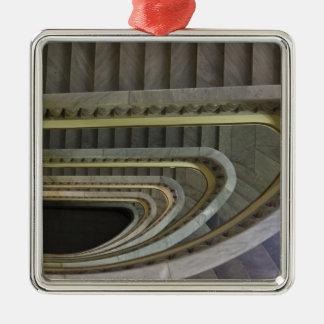 Spanien, Madrid, Circulo de Bellas Artes, staircas Silbernes Ornament