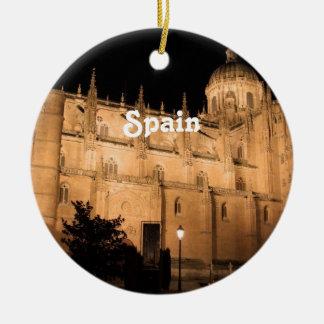 Spanien Rundes Keramik Ornament
