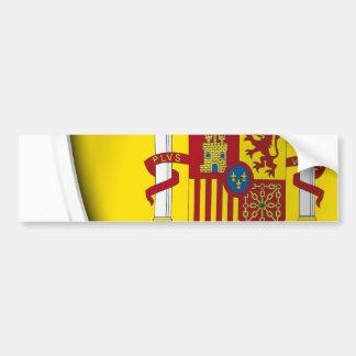 Spanien-Schild Autoaufkleber