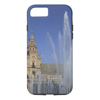 Spanien, Sevilla, Andalusien-Brunnen und iPhone 8/7 Hülle