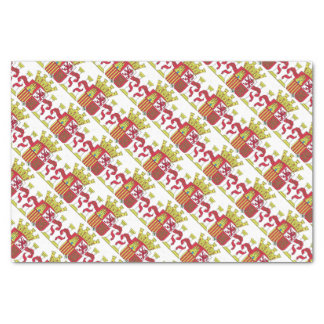 Spanien/spanisches Flaggen-Emblem Seidenpapier
