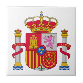 Spanien-Wappen Fliese