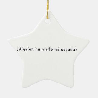 Spanisch-Klinge Keramik Ornament