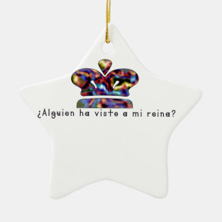 Spanisch-Königin Keramik Ornament