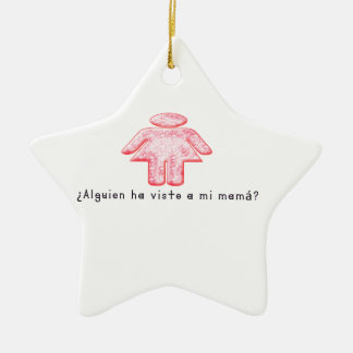 Spanisch-Momma Keramik Ornament