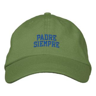 Spanisch Padre Siempre gestickte Kappe Baseballcap