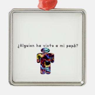 Spanisch-Vati Silbernes Ornament