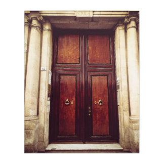 Spanische Tür Acryldruck