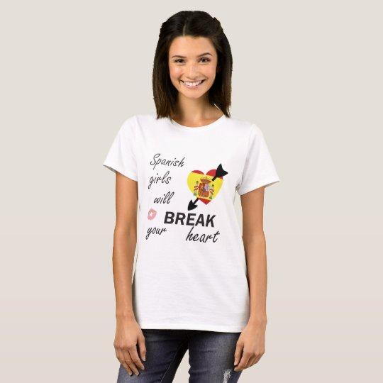 Spanischer Heartbreaker T-Shirt