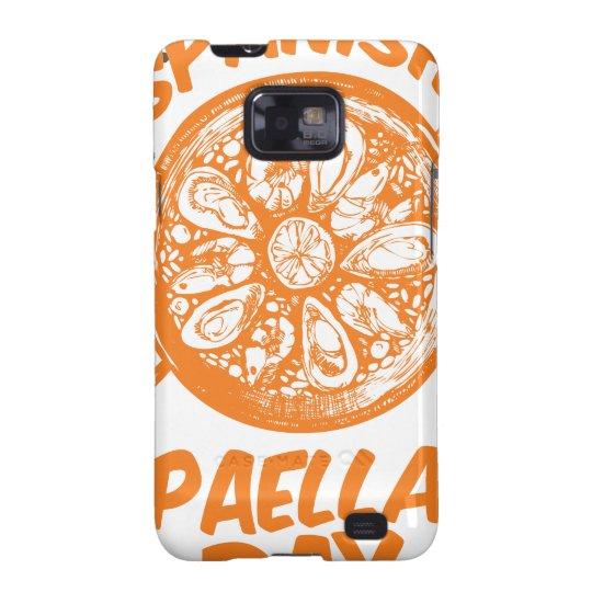 Spanischer Paella-Tag Samsung Galaxy SII Hülle