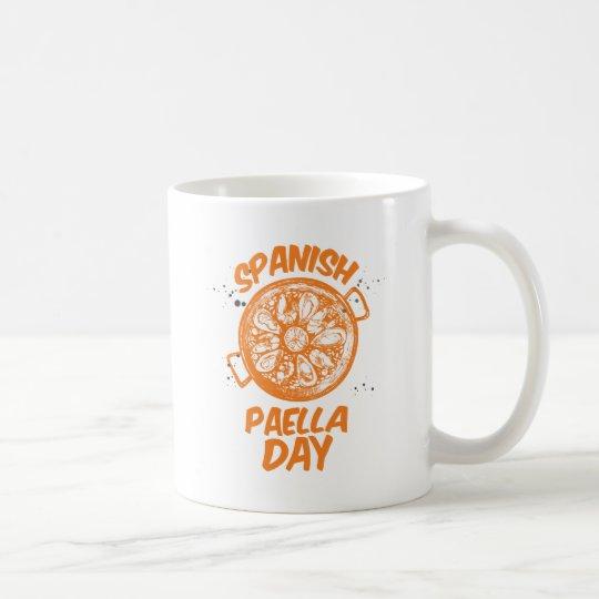 Spanischer Paella-Tag Tasse