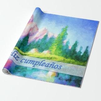 Spanisches Geschenkpapier