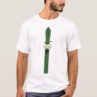 Spargel-Charakter-T - Shirt