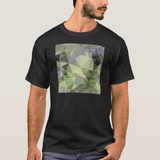 Spargel-grüner abstrakter niedriger T-Shirt