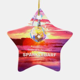 Sparklebarf Keramik Stern-Ornament