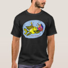 SPARKY CHANUKKA-FISCHE - Comic-lustiger T - Shirt