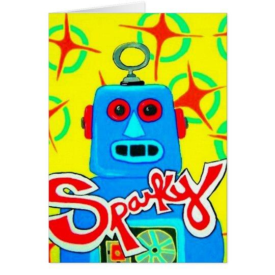 Sparky der Roboter Karte