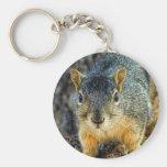 Sparky le porte - clé d'écureuil porte-clé rond
