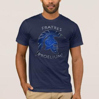 Spartanischer Kampf-Trojan griechisches T-Shirt