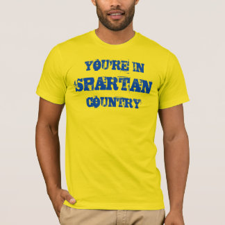 Spartanisches Land-GoldShirt T-Shirt