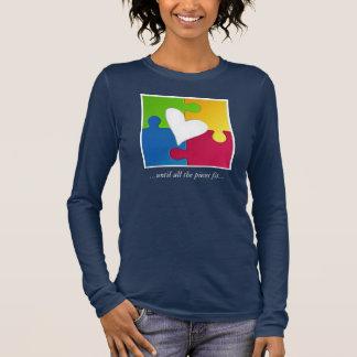 Spaß-Autismus-Bewusstseins-Shirt Langarm T-Shirt