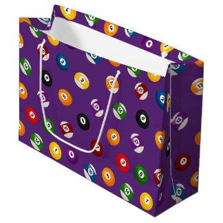 Spaß-Billard trägt Muster mit Ziegeln gedeckte Große Geschenktüte