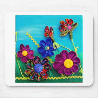 Spaß-Blumen Mauspads