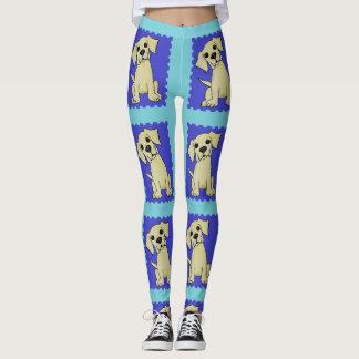Spaß-bunte Labrador-Hundegamaschen Leggings
