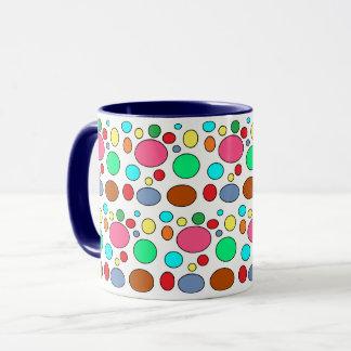 Spaß-bunter Punkt-Entwurf Tasse