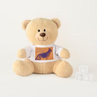 Spaß-bunter Schäferhund Teddy