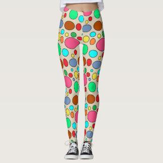 Spaß-buntes Punkt-Muster Leggings