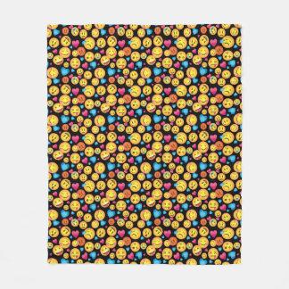 Spaß Emoji Druck-Fleece-Decke Fleecedecke