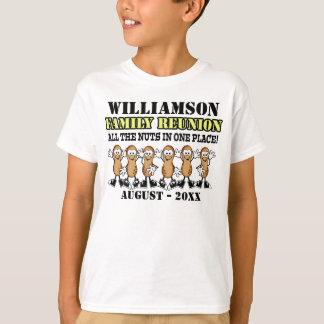 Spaß-Familien-Wiedersehen-Erdnuss-Shirt T-Shirt