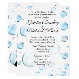 Spaß-Fantasie-Blasen, die Einladung Wedding sind
