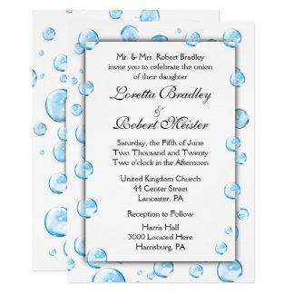 Spaß-Fantasie-Blasen, die Einladungen Wedding sind