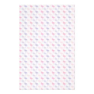 Spaß-Flamingo-Muster Personalisierte Druckpapiere
