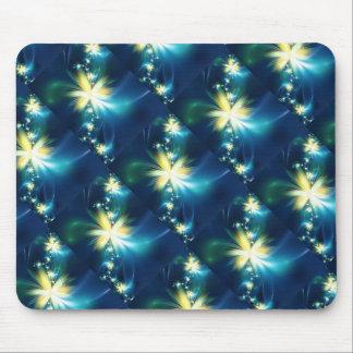 Spaß-Fraktal-Blume Mousepads