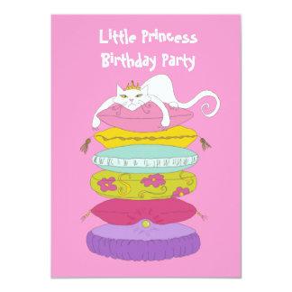 Spaß-Geburtstags-Party kleiner Prinzessin lädt 11,4 X 15,9 Cm Einladungskarte