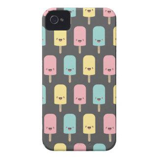 Spaß glückliche Kawaii Eis-Lutschbonbons iPhone 4 Hüllen