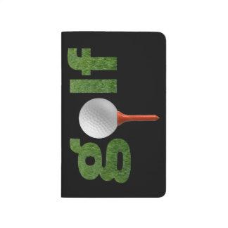 Spaß-Golf-Sport-Entwurf Taschennotizbuch