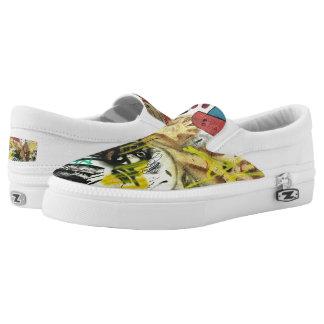 Spaß-Graffiti-Schuhe Slip-On Sneaker