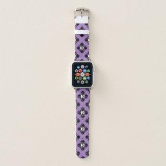 Spaß-Halloween-Schädelmuster Apple Watch Armband