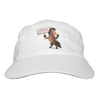 Spaß-Hut mit Wildwood Gasthaus-Logo Headsweats Kappe