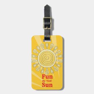 Spaß im Sun Gepäckanhänger